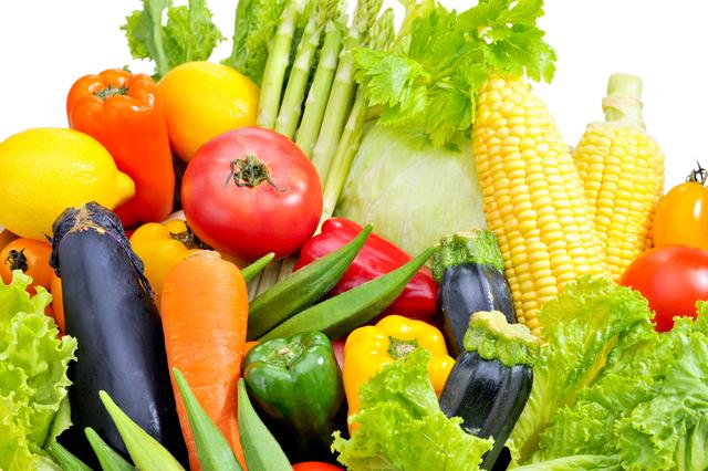 野菜の種類は多め