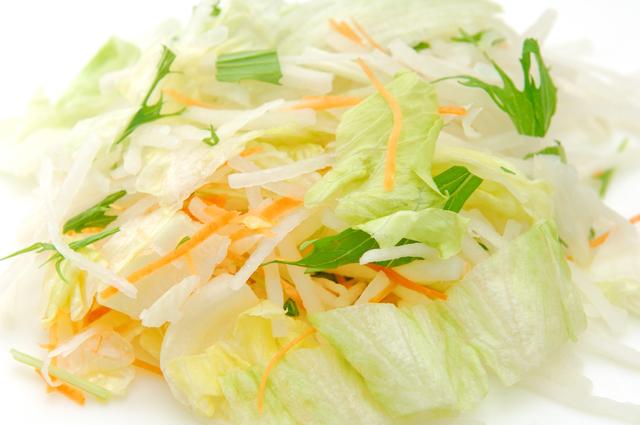 カット野菜の変色防止