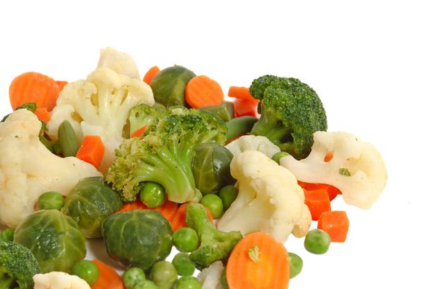 冷凍カット野菜の解凍・調理方法